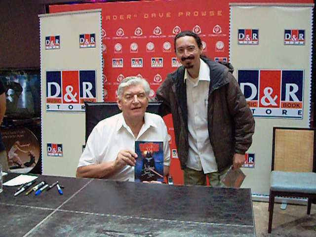 Mr. Dave Prowse and his humble servant!