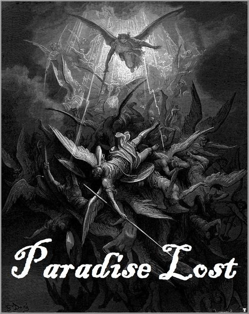 "Gustave Doré's depiction of Paradise Lost - ""The Fall of Lucifer"""