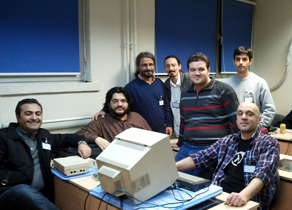 (From left to right) - Modelist, Alcofribas, Akermen, matahari, retromaster, Adamın Biri, Shax