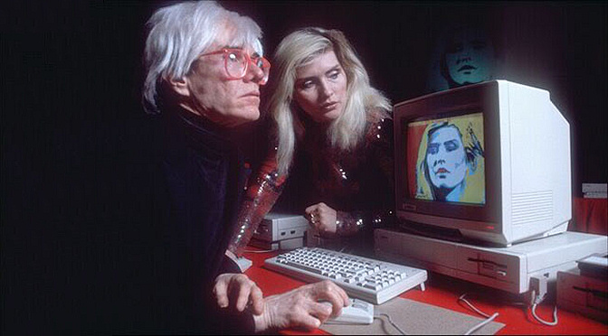 Lost Andy Warhol artworks discovered on Amiga floppies