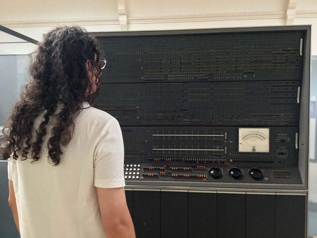 IBM7101 Central Processing Unit Maintenance Console